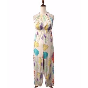 Vintage Donald Brooks Nautical Sheer-ish Nightgown